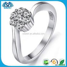 Alli Express 3 Carat Diamond Solitaire Ring