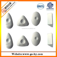 Triangle shaped White eraser rubber