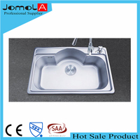 Jomola inox sink single bowl kitchen sink