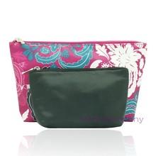 2 in 1 Ladies beauty cosmetic case makeup bag