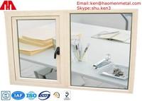 Powder Coated Side Opening Aluminium Window Frames