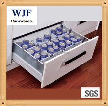 Push open luxury drawer box for kitchen cabinet