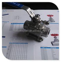 SS316 Ball Valve --Butt Welded Neck 1000Wog
