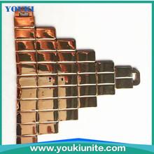 plastic design metal side release buckle