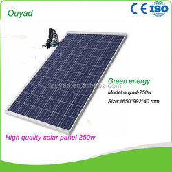 High efficiency solar panels for sale 250 watt solar panels, high quality 250W Poly solar panels, High performance 250W Solar M
