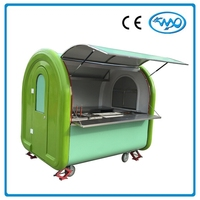Best Quality Fast Food Cart Stainless Steel Mobile Food Carts for Sale