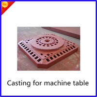 Factory Price FCD 450 Ductile iron casting for drilling machine
