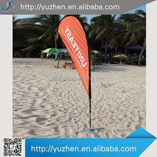 2015 new sports advertising beach flags and banners