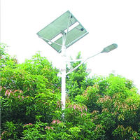 Germany standard solar street light sunpower folding solar panel solar street lamp