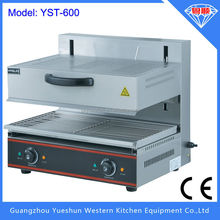 Automatic lift-up electric salamander grills stainless steel