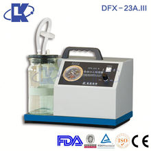 DFX-23A.III infant sputum suction devices infant phlegm suction devices