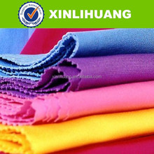 Hot selling good hand feeling 97 cotton 3 spandex cotton spandex woven twill stretch fabric