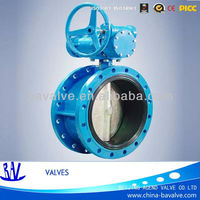 flange cast iron/ductile iron dn1800 butterfly valve