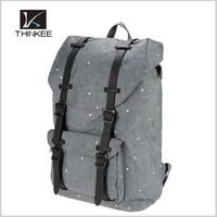 2016hot new promotional travel hiking canvas rucksack backpack bags