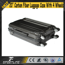 Wholesale Universal Carbon Fiber Travel Luggage Case Bag 20'' with 4 Wheels