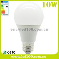 Plastic + AL 10W E27 LED Bulb Light AC85-265V Foshan