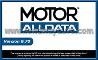ALLDATA VERSION 10.10 INFORMATION Diagnostic tool