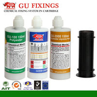 concrete and metal bonding adhesive for anchor bolt