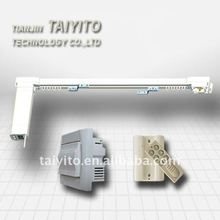 TAIYITO TDXE4466 home automation flat-open electric curtain system,with remote control,long distance control