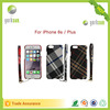latest hot sale pc mobile phone case for iphone with hand strip