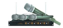 4 handed vhf cheap wireless microphone Head set microphone