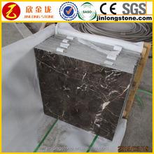 marble tile price of china dark surface polish