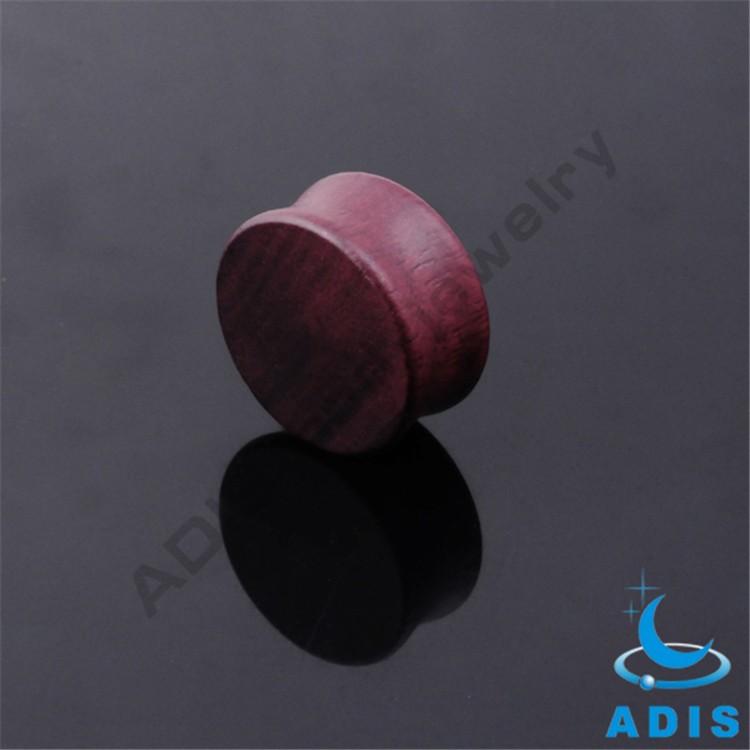 Healthy Material Luxury Jewelry In Dubai Rose Wood Earring Plug  (3).jpg