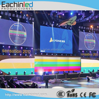 Adjustable brightness dj booth led and dj console stage background led digital screen