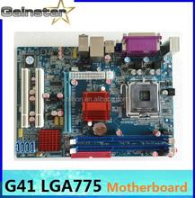computer motherboard G41 LGA775 support ddr3 memory