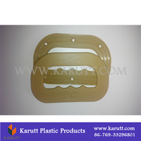 High Quality Custom Stock Goods Plastic Rice Bag Holder Handle Carrier for Packing