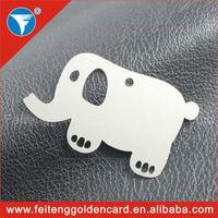 China cheap elephant animal bookmarks wholesale