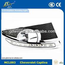 Easy Install Best In Class Super White Special LED Daytime Running Light Special For Chevrolett Captiva LED DRL 2009-2012
