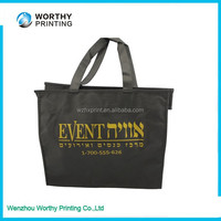new arrived d cut recycled non -woven carry pp bags