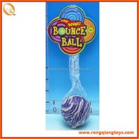 Rubber 60mm bouncing ball, skip ball SP71812015-6A-13