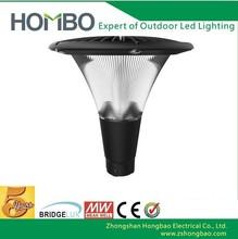 zhongshan manufactory waterproof aluminum 3 years warranty 20w/30w/40w/50w solar lawn lights/parking lot