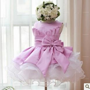 Розничная торговля! новые девочки, одежда красивая принцесса платье девушки рукавов кружева платье день рождения Платья, платье для девочки
