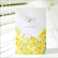 Chinese factories directly sale 2015 indian wedding cards