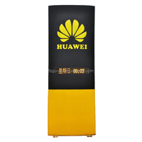 double sided glass picture frame electronic billboard manufacturer advertising board for shops LED screen light box