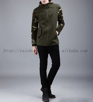 OEM china new fashion navy jacket in camo with hood