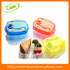 New Design Fashion Convenient Knife And Fork Into Cap Lunch Box