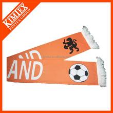 2015 custom printing football polyester scarf
