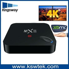 The top seller amlogic s802 mxiii android tv box octo-core mail-450 external antenna android tv box with cccam