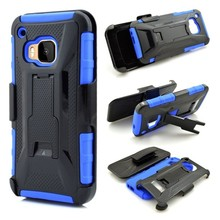 Holster Belt Clip Kickstand Protective Mobile Phone Case For HTC One M9