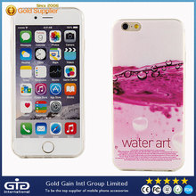 Super Thin TPU Case for iPhone 6 With Various and Colorful Designs