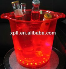 Factory supply led flashing bucket for party