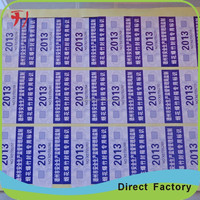 Hot sale label printing machine roll sticker, custom waterproof round machine label sticker, vinyl durable machine sticker roll
