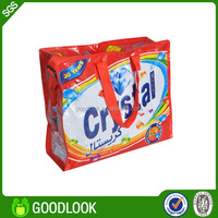 Stock clearance in low price economic plastic shopping bag