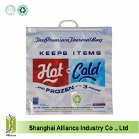 Hot Cold Insulated Foil Grocery Bag Reusable Thermal Food Storage Carry Bag New