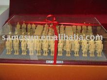 No.1 pit model of Xi'an terra-cotta warriors in gift box