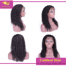 Wholesale Factory Price Malaysian Virgin Curly hair lace wig